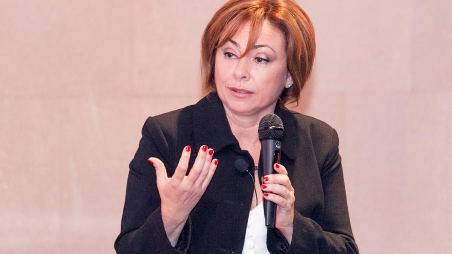 La nueva rectora, Rosa María Aguilar