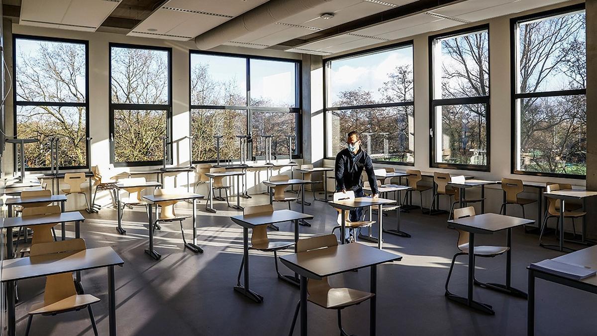Escuelas cerradas en Alemania en medio de la pandemia