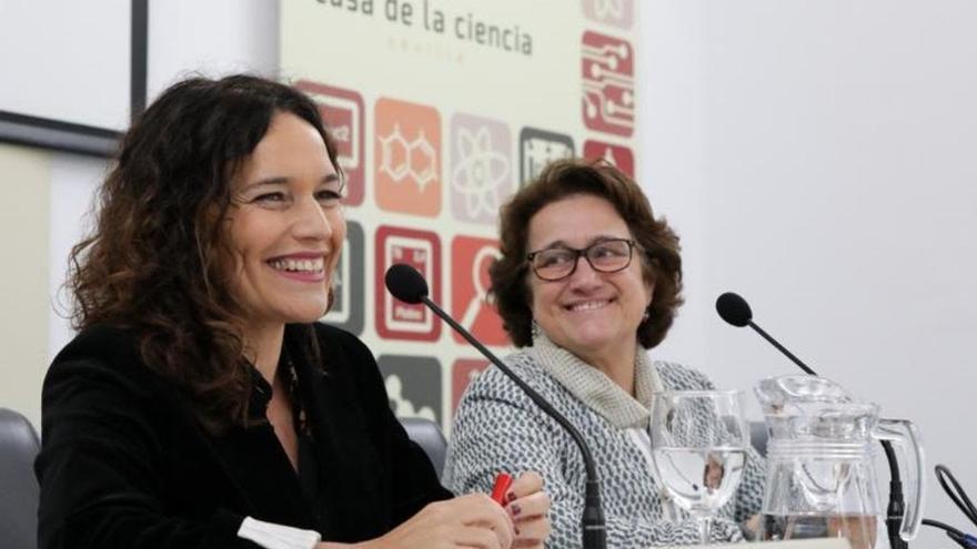 Lina Gálvez (PSOE) presenta el programa Horizonte Europa sobre investigación en colaboración con la CE
