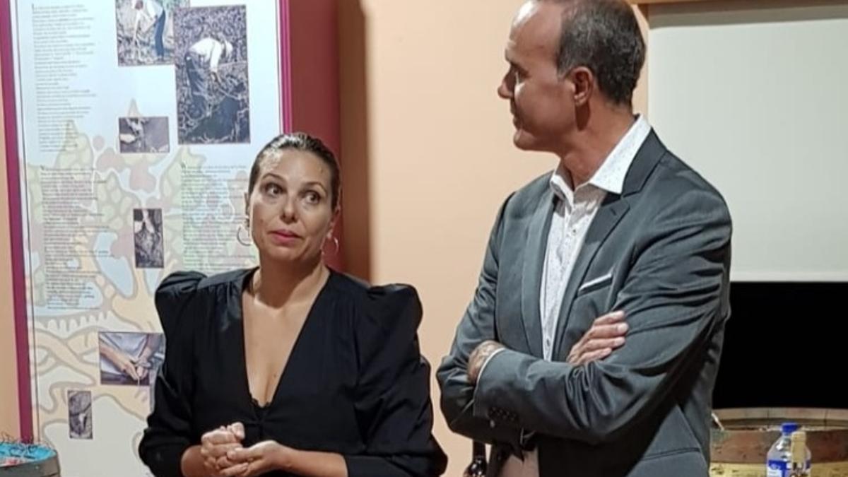 Inmaculada Fernández y Raúl Camacho.