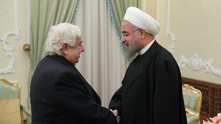 Zarif y Al Mualem tratan el alto el fuego en Siria y el futuro diálogo de paz