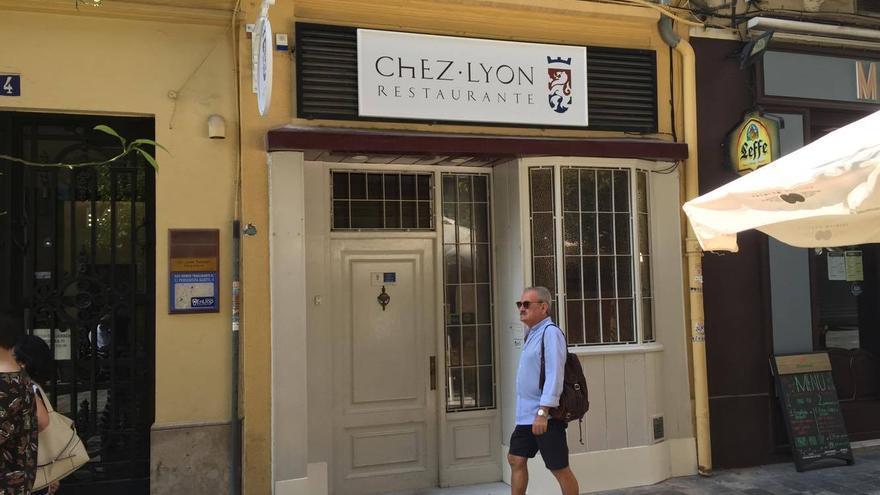 Fachada del Chez Lyon