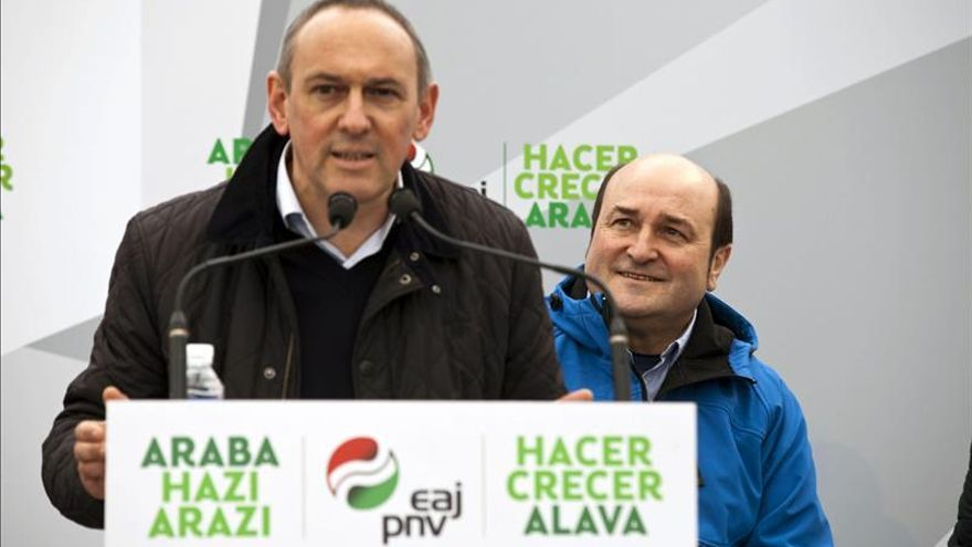 """El PNV no descarta """"absolutamente a nadie"""" para formar Gobierno en Álava"""