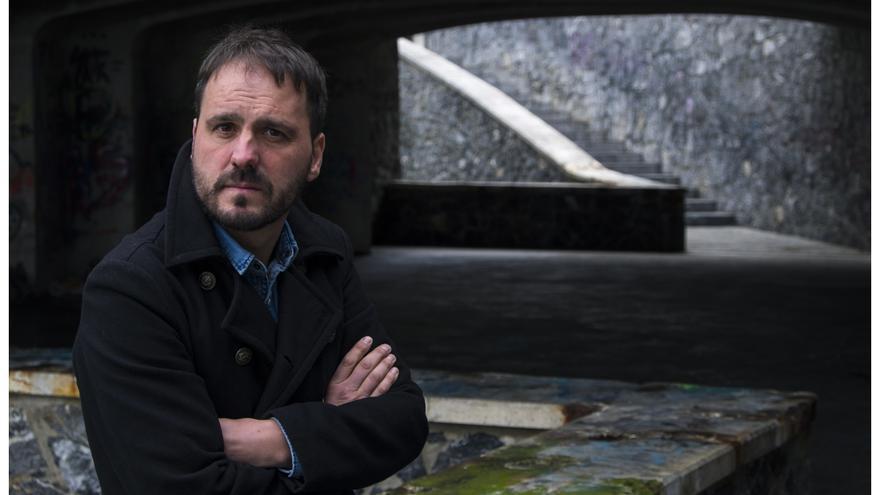 El escritor vasco y Premio Nacional de Literatura Kirmen Uribe.