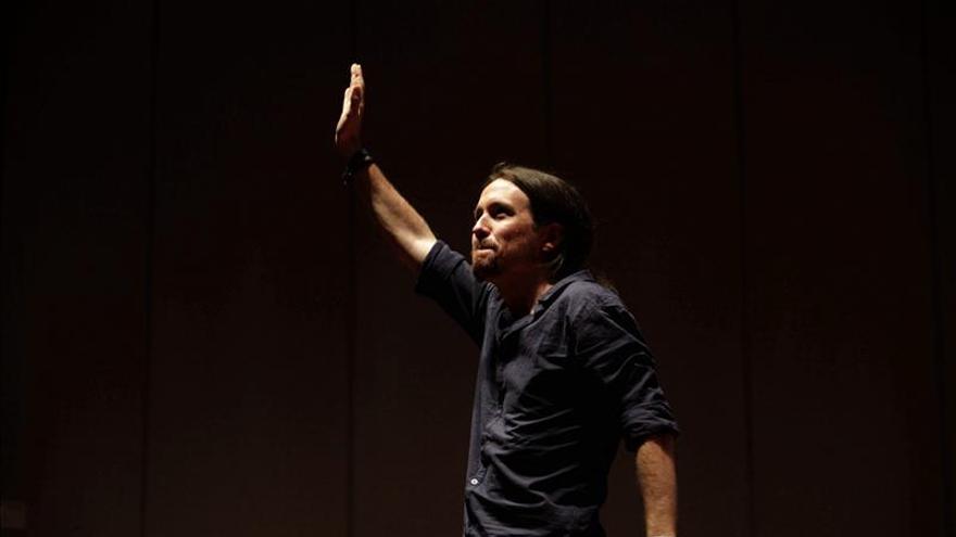 Pablo Iglesias llena en Murcia e invita a los partidarios del cambio a unirse Podemos