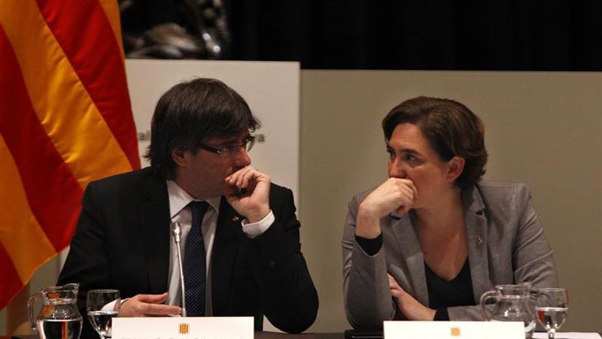 Puigdemont y Colau muestran su preocupación ante resultado elecciones en EEUU