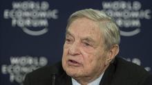 El multimillonario George Soros invierte 500 millones en la ampliación del Santander