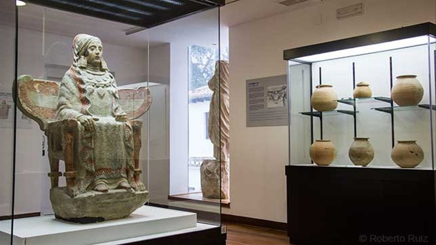 Museo Arqueológico Municipal de Baza, Dama de Baza
