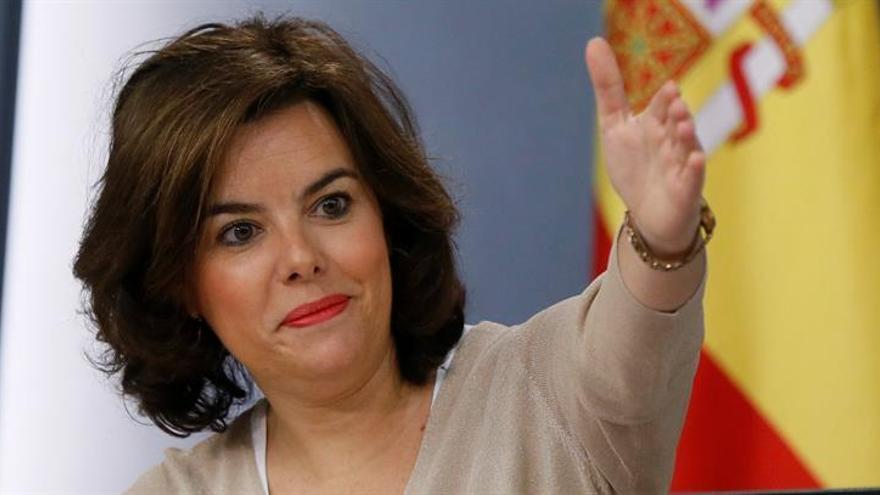 Sáenz de Santamaría vicepresidenta y ministra de Administraciones Territoriales