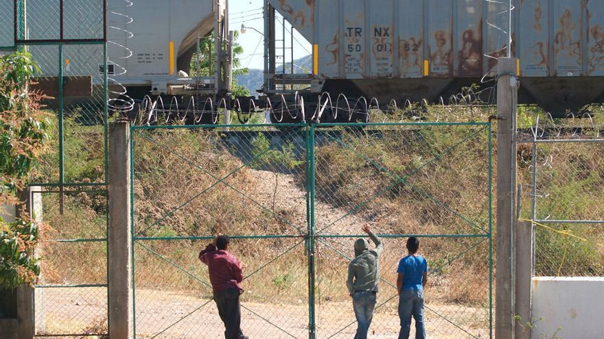 """""""El daño más grande del Programa Fronter Sur es impedirnos subir a La Bestia"""", dicen migrantes en la frontera de México. / Animal Político."""