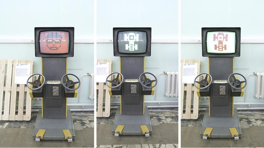 Magistral. Simulador de automóvil. Foto: Àngel Ferrero.