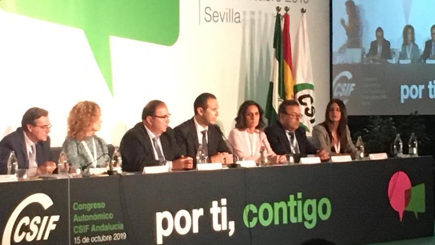 Germán Girela recoge el testigo de José Luis Heredia como nuevo presidente del CSIF-A
