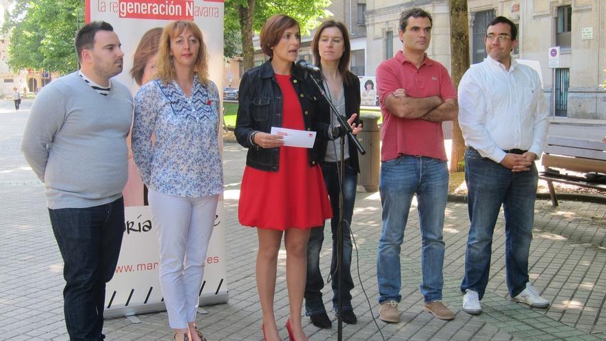 """Chivite dice que el PSN """"no va a poner a EH Bildu en la Presidencia del Gobierno de Navarra"""""""