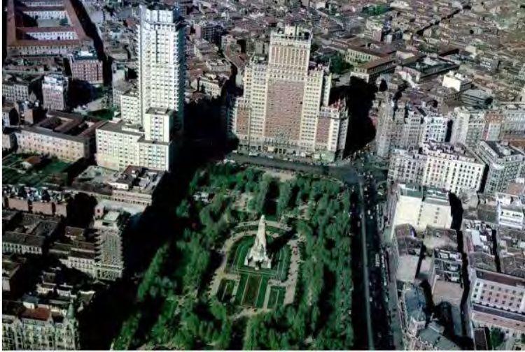Foto aérea de los años 60 (Archivo FOAT)