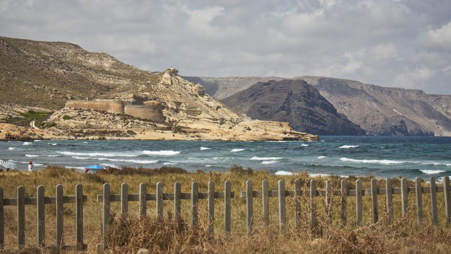 El Playazo, en Cabo de Gata.