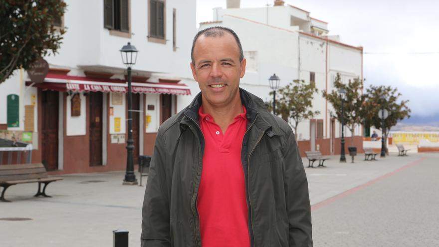 Roberto García, alcalde de Artenara