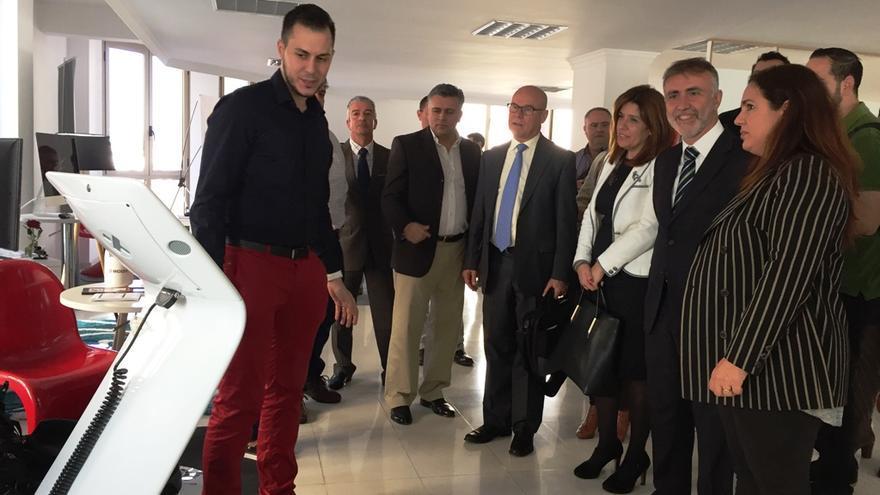 Inauguración del centro de coworking del Club Internacional de Empresarios y Emprendedores en Arnao