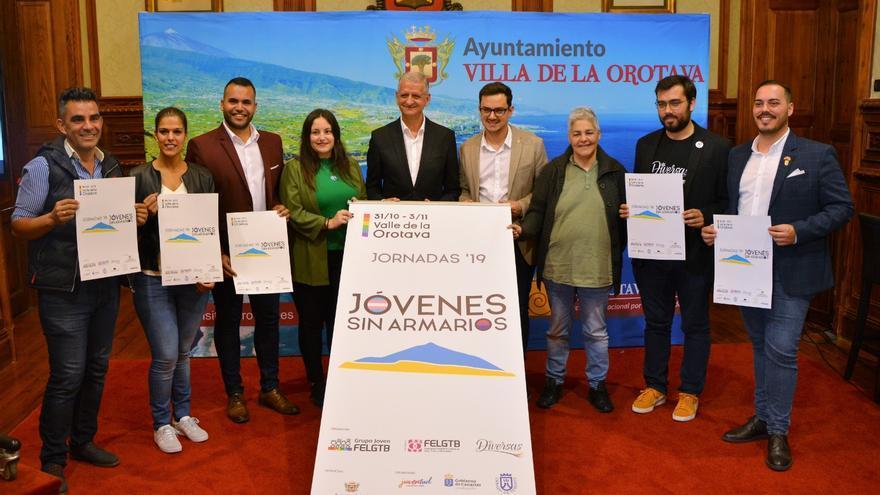 Presentación de las 'Jornadas Jóvenes Sin Armarios'