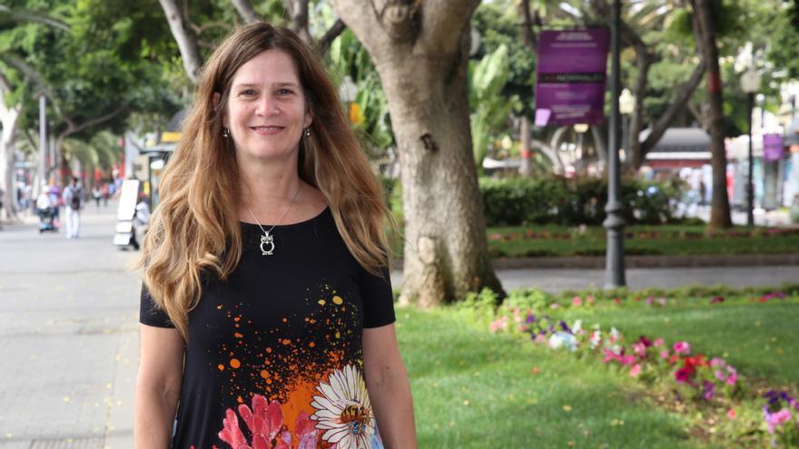 Laura Puga, sobrina nieta de Manuel Vázquez Moro, último gobernador civil en Tenerife de la II República