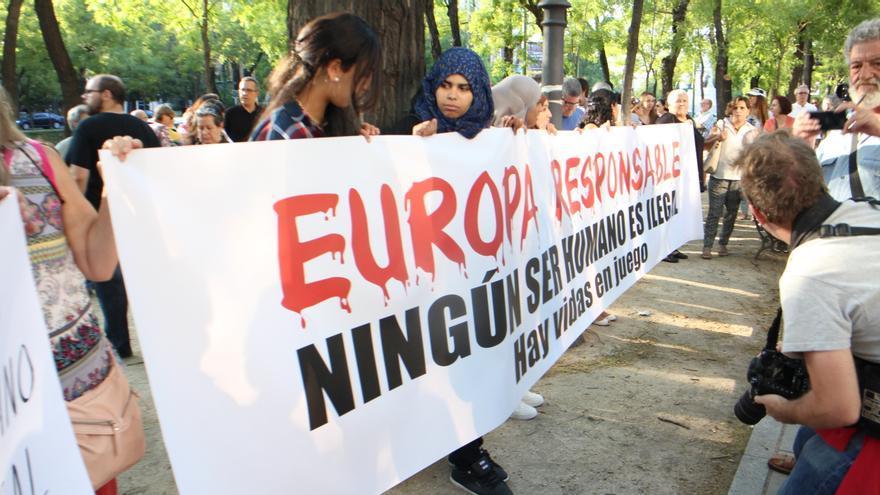 Manifestación refugiados