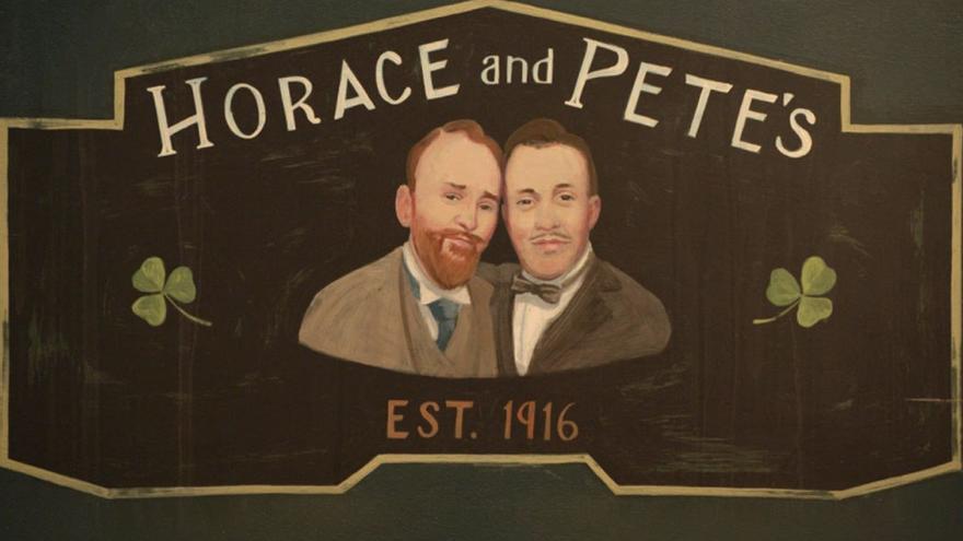 Cebecera de la serie Horace & Pete. (DP).