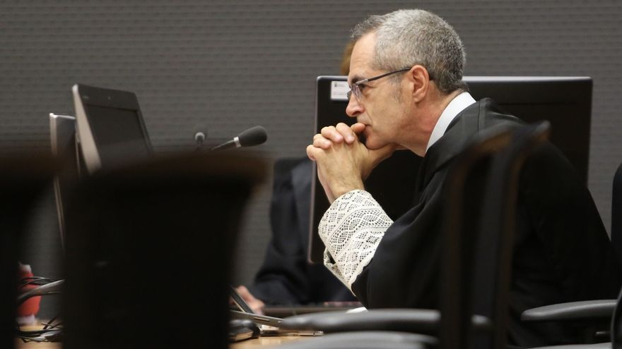 El fiscal Luis del Río. (ALEJANDRO RAMOS)