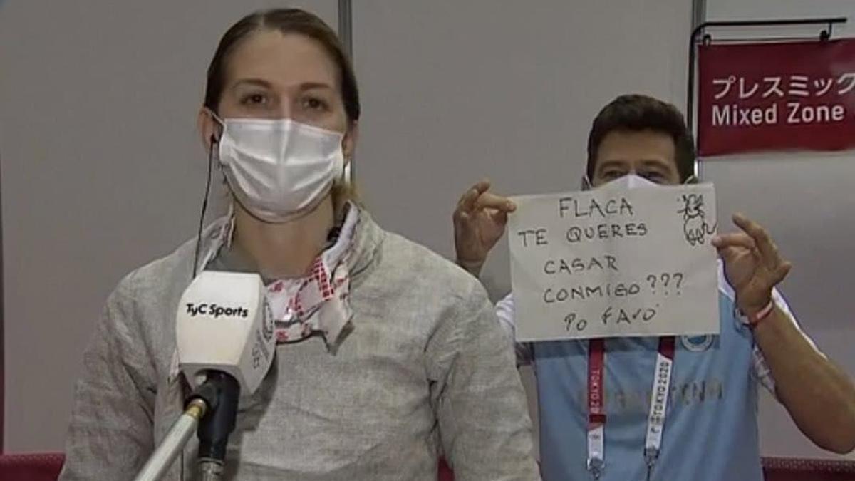 Belén Pérez Maurice recibió propuesta de casamiento tras su eliminación en Tokio 2020