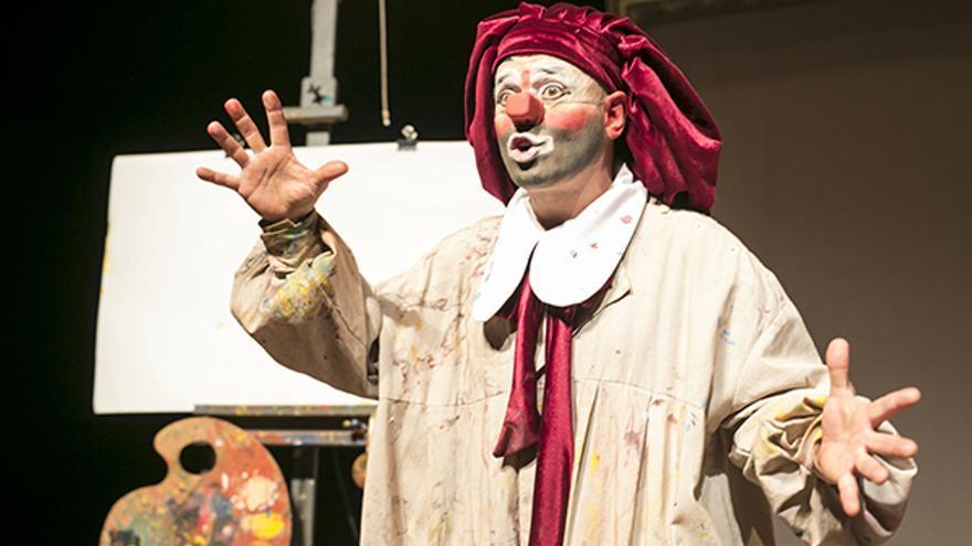 Espectáculo de magia 'La primera obra de arte' del clown OriolO.