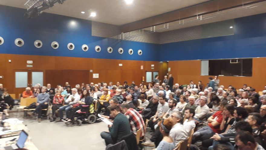 Plenario de Zaragoza en Común
