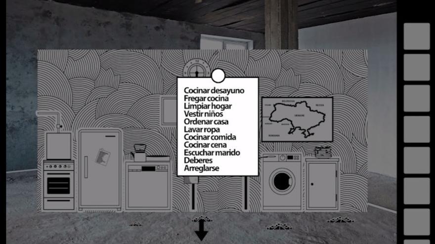 Las tareas domésticas con las que se encontrará un jugador de 'VONA'