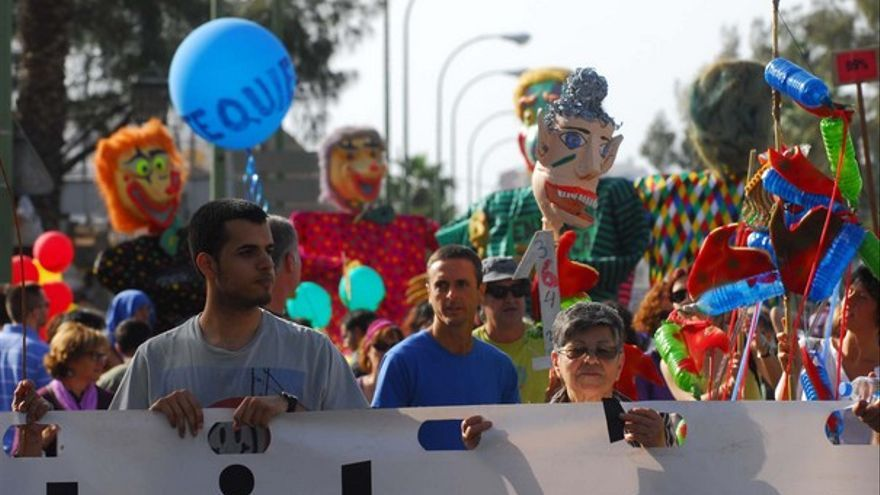 Manifestación del 12M en LPGC #8