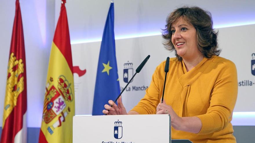 Patricia Franco, consejera de Economía, Empresas y Empleo FOTO: JCCM
