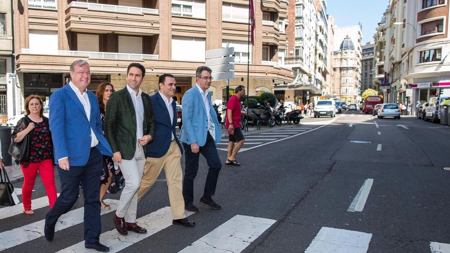 Comité Ejecutivo extraordinario del PP de León, con la presencia de Teodoro García Egea.