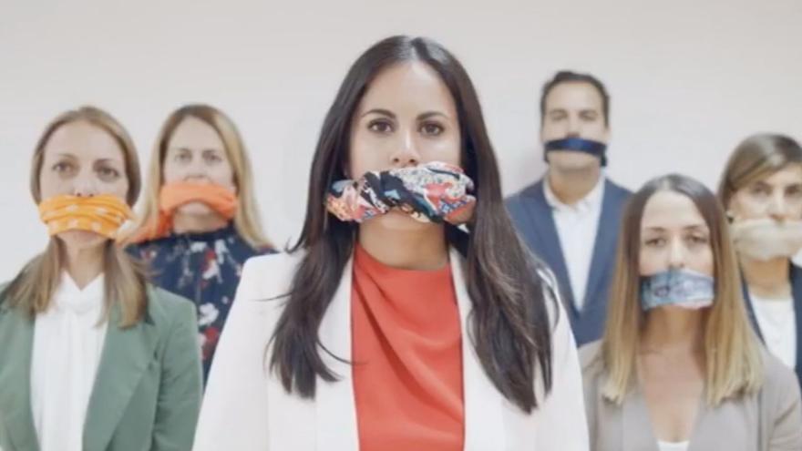 Vídeo con el que Ciudadanos denuncia su exclusión de los debates de RTVC