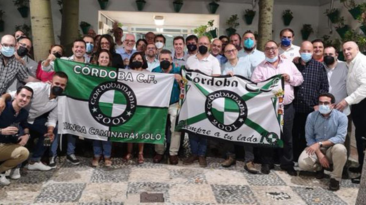 Peñistas de Cordobamanía celebran su aniversario