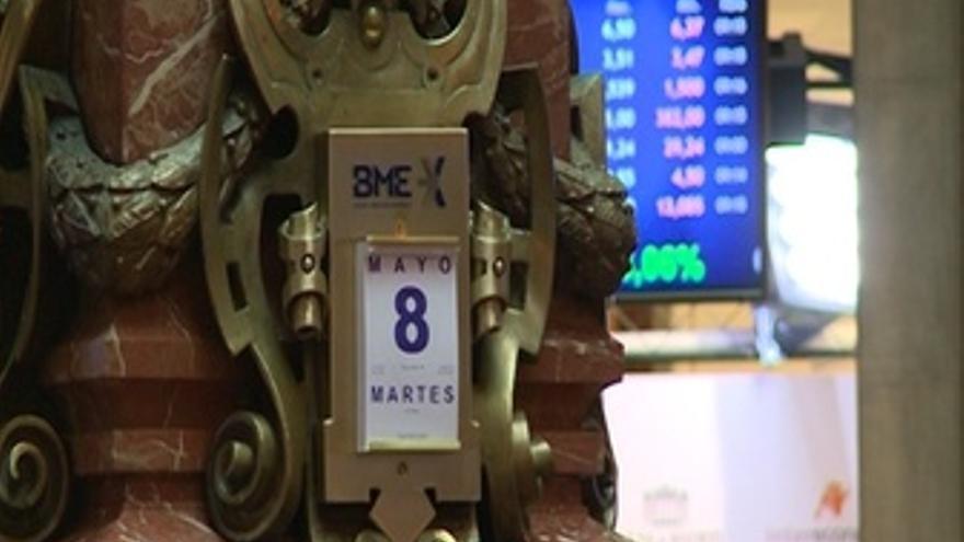 El Ibex cae un 0,46% en la apertura