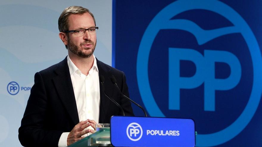"""Maroto: Susana Díaz """"ha dicho que pactar con Podemos es que gane Podemos y pactar con el PP es que gane España"""""""