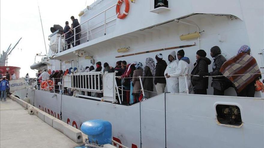 1.469 inmigrantes rescatados en las últimas horas frentes costas italianas