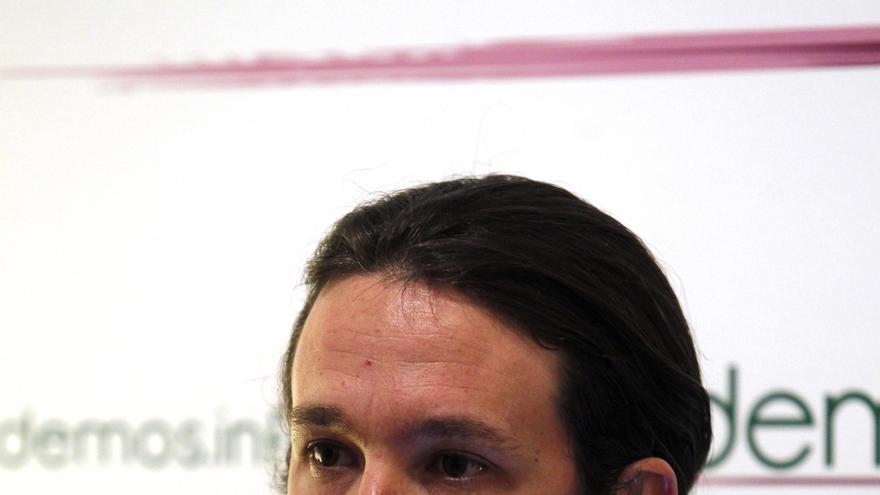 Pablo Iglesias y Ska Keller firman un manifiesto de ICV-EUiA de rechazo a la negativa del PP