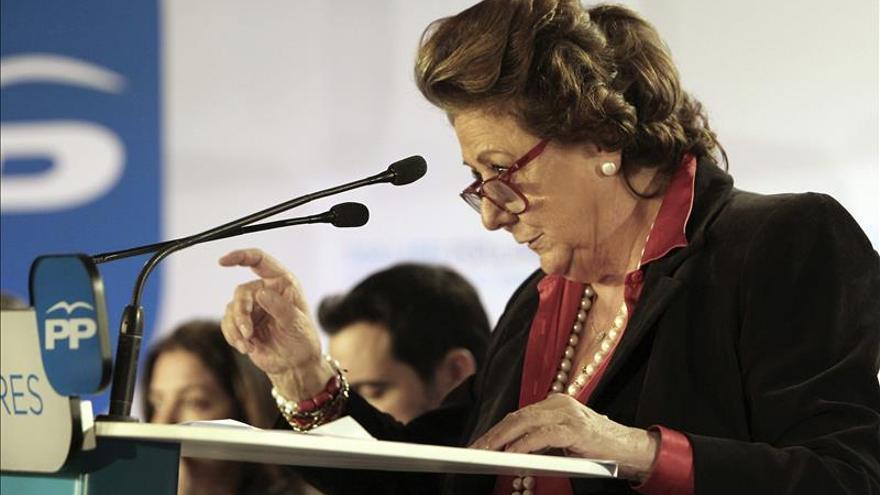 Barberá pide disculpas por su uso del valenciano en un discurso fallero