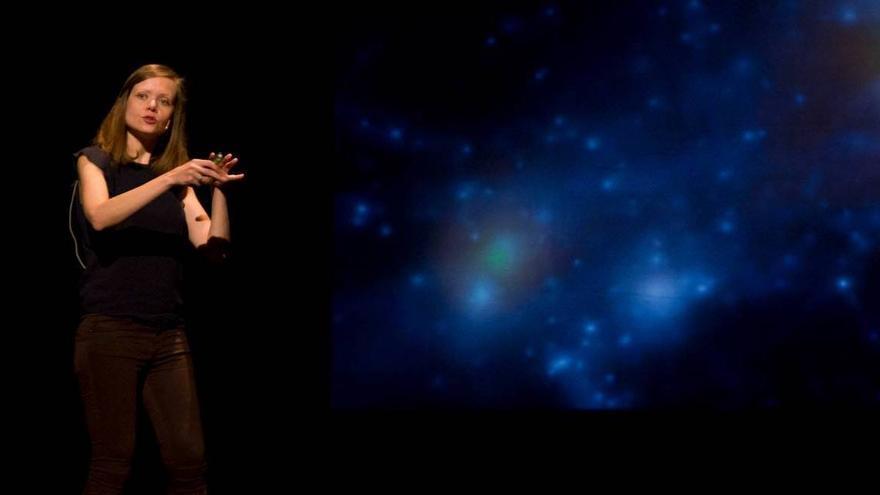 Cristina Ramos Almeida, natural de Santa Cruz de La Palma, es doctora en Física e investigadora del programa Ramón y Cajal del Instituto de Astrofísica de Canarias.