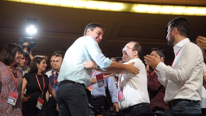 El PSC contará con tres miembros en la nueva Ejecutiva Federal de Sánchez