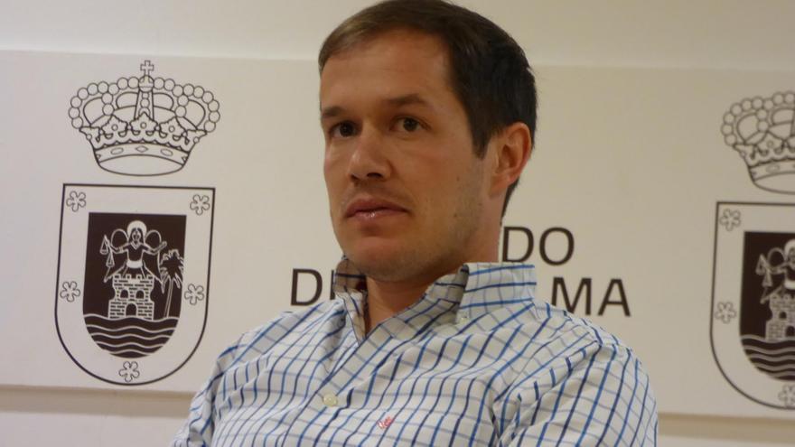 Mariano Hernández Zapata, consejero del PP en el Cabildo de La Palma.