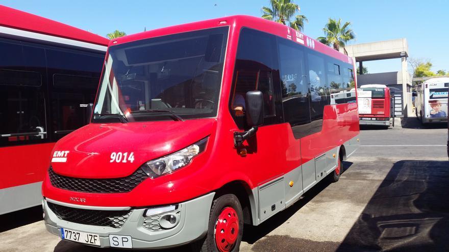 El nuevo autobús de la EMT