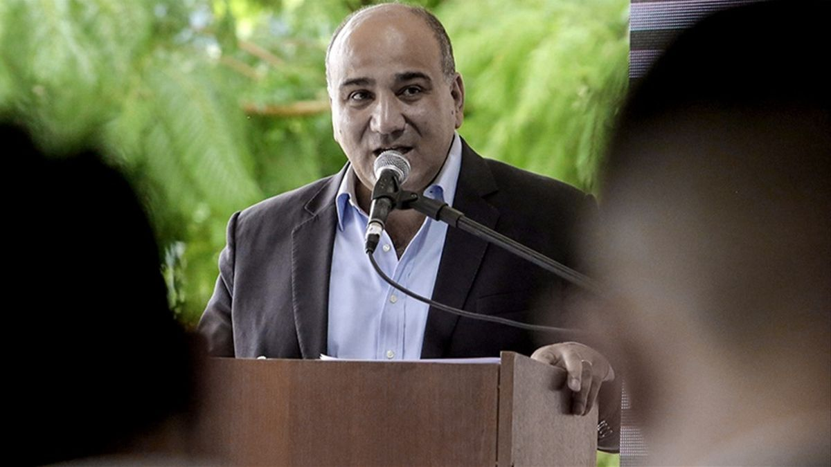 Juan Manzur, jefe de Gabinete.