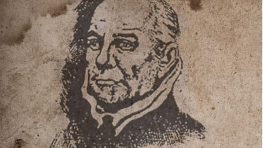 Retrato de Bartolomé Cairasco de Figueroa. (CANARIAS AHORA).