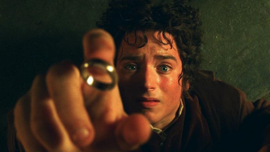 """Elijah Wood en la adaptación cinematográfica de """"El señor de los anillos"""""""
