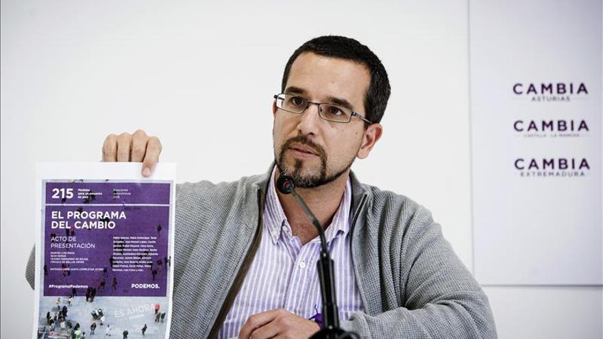 La dirección de Podemos desvincula la salida de Monedero de debates internos