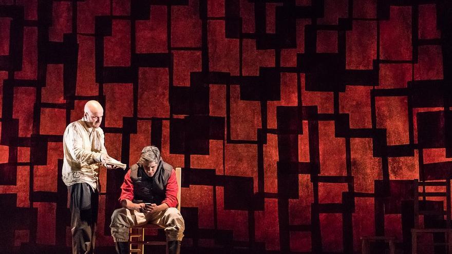 Tiziana Teatro presenta 'La zanja', sobre el choque de civilizaciones, el jueves en el Palacio de Festivales