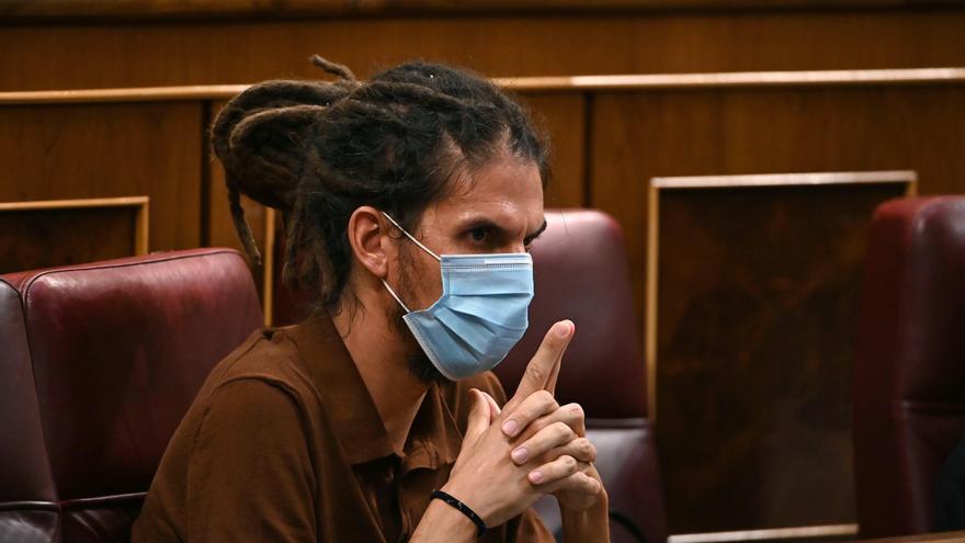Suspendida la declaración del diputado de Unidas Podemos Alberto Rodríguez en el Tribunal Supremo